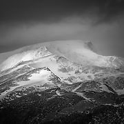 Ben Nevis and the Mamores from Meall Dearg