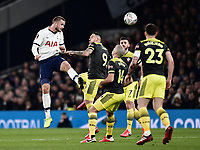 Football - 2019 / 2020 Emirates FA Cup - Fourth Round, Replay: Tottenham Hotspur vs. Southampton<br /> <br /> Tottenham Hotspur's Eric Dier in action during this evening's game , at The Tottenham Hotspur Stadium.<br /> <br /> COLORSPORT/ASHLEY WESTERN