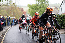 Marianne Vos (NED) of CCC-Liv Team climbs the Côte de Grosmont during the ASDA Tour de Yorkshire Women's Race 2019 - Stage 2, a 132 km road race from Bridlington to Scarborough, United Kingdom on May 4, 2019. Photo by Balint Hamvas/velofocus.com