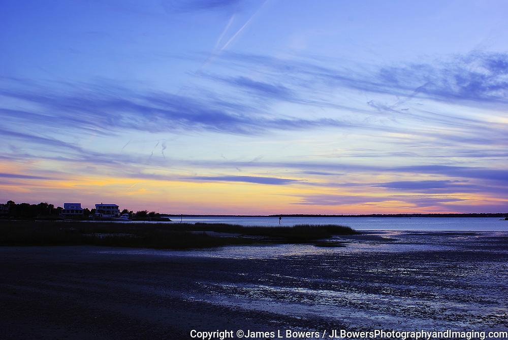 South End Sullivans Island Sunset, Charleston, SC