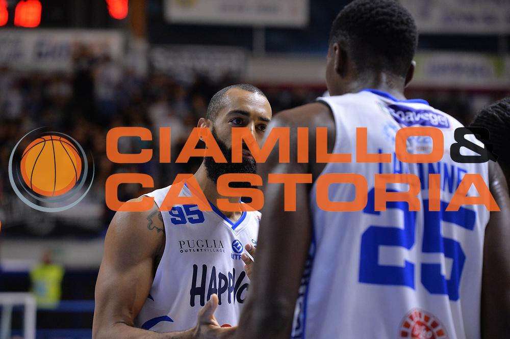 Randle Brian<br /> Happycasa Brindisi - Germani Basket Brescia<br /> Legabasket serieA2017-2018<br /> Brindisi , 29/10/2017<br /> Foto Ciamillo-Castoria/