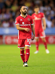 Erhun Oztumer of Walsall - Mandatory by-line: Paul Roberts/JMP - 18/07/2017 - FOOTBALL - Bescot Stadium - Walsall, England - Walsall v Aston Villa -  Pre-season friendly