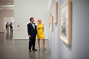 "Bechtler members attend a members-only reception for the exhibitions  ""Sam Francis: Rapid Fluid Indivisible Vision"" and ""Portraying the Patron: Andy Warhol and the Bechtlers"" Friday, Sept. 18, 2015. Photo by Wendy Yang Photography"