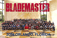 23 June 2018: 2018 PHATS/SPHEM annual meetings in Orlando Florida. Guspro Blademaster annual photo.