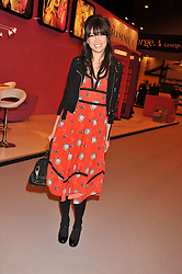 DAISY LOWE at the Graduate Fashion Week Gala drinks reception held at Earls Court 2, London on 13th June 2012.