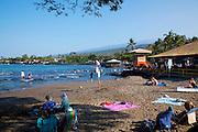 Kahalu'u Beach Park, Kailua Kona, Island of Hawaii, Hawaii