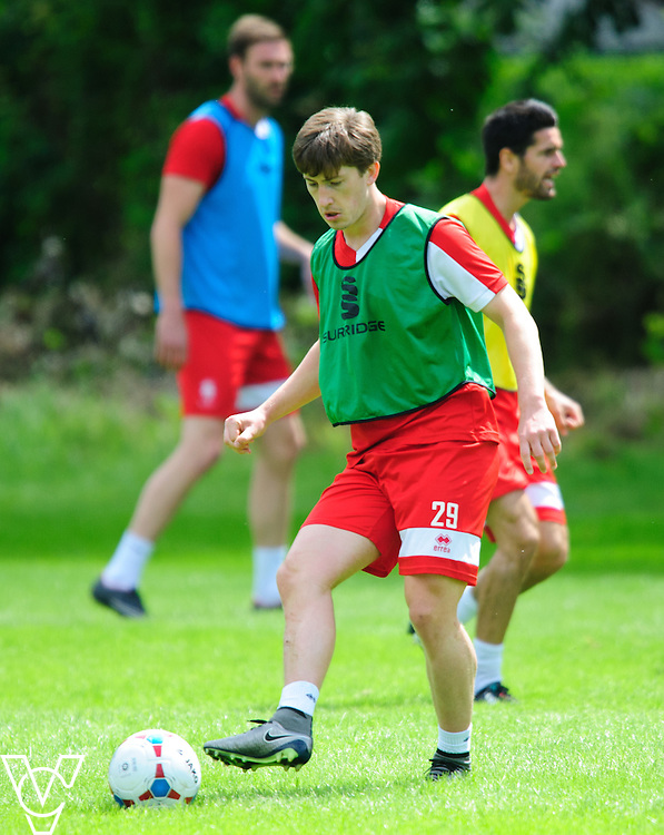 Lincoln City's Alex Woodyard during training<br /> <br /> Lincoln City players have reported back for pre-season training ahead of their upcoming 2016/17 National League campaign.  <br /> <br /> Picture: Chris Vaughan/Chris Vaughan Photography<br /> Date: June 27, 2016