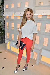 NIOMI SMART at a cocktail party to mark the opening of the House of Dior, the United Kingdom's largest and premier Dior boutique at 160-162 New Bond street, London on 8th June 2016.