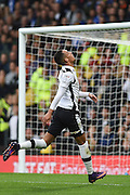Derby County midfielder Tom Ince (10) puts the ball over the bar during the EFL Sky Bet Championship match between Derby County and Sheffield Wednesday at the iPro Stadium, Derby, England on 29 October 2016. Photo by Jon Hobley.