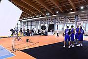 Cinicarini, Vitali Luca, Tonut Stefano, Cusin<br /> Raduno Nazionale Maschile Senior<br /> Back Stage Shooting<br /> Folgaria 24/07/2017<br /> Foto Ciamillo-Castoria/ G. Ciamillo