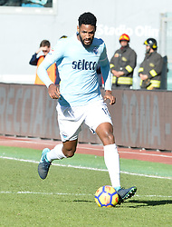 December 23, 2017 - Rome, Italy - Fortuna Dos Santos Wallace during the Italian Serie A football match between S.S. Lazio and Crotone at the Olympic Stadium in Rome, on december 23, 2017. (Credit Image: © Silvia Lore/NurPhoto via ZUMA Press)