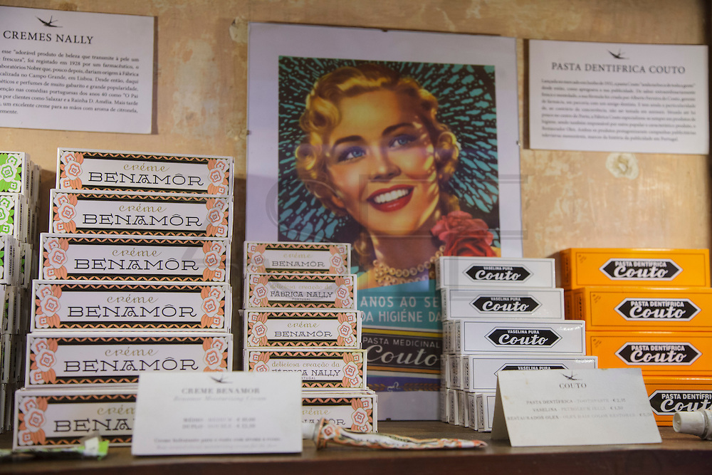 """The shop """"A vida portuguesa"""" (Portuguese Life) in Lisbon's Chiado district, sells vintage portuguese goods that range from original ceramics from Rafael Bordalo Pinheiro creations, to soaps, notebooks and canned fish."""