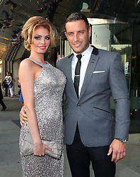 Chloe Sims and Elliot Wright attend the TV Choice Awards 2014 held at London Hilton, London, UK. 08/09/2014<br />BYLINE MUST READ : JAMESY/GOTCHA IMAGES<br /><br />Copyright by © Gotcha Images Ltd. All rights reserved.<br />Usage of this image is conditional upon the acceptance <br />of Gotcha Images Ltd, terms and conditions available at<br />www.gotchaimages.com