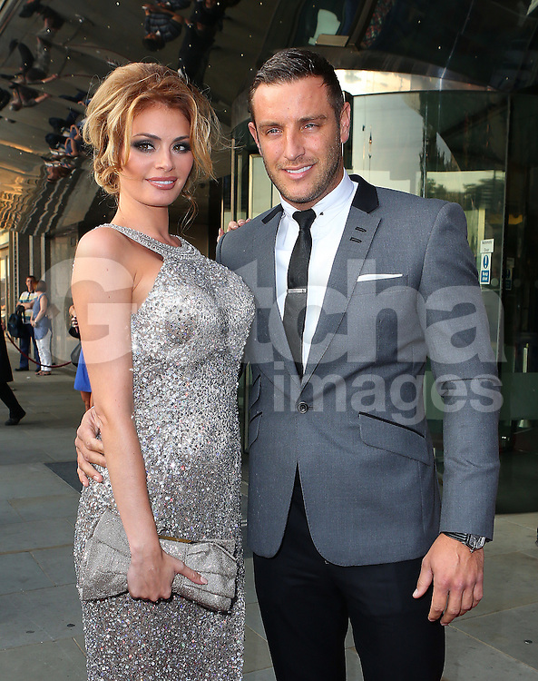 Chloe Sims and Elliot Wright attend the TV Choice Awards 2014 held at London Hilton, London, UK. 08/09/2014<br />