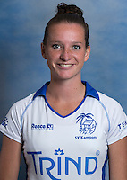 UTRECHT ,  Lisette Korink.   KAMPONG Dames I, seizoen 2015-2016. copyright Koen Suyk