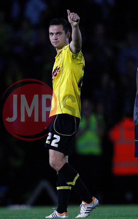 Burton Albion's Jack Dyer - Photo mandatory by-line: Matt Bunn/JMP - Tel: Mobile: 07966 386802 27/08/2013 - SPORT - FOOTBALL - Pirelli Stadium - Burton - Burton Albion V Fulham -  Capital One Cup - Round 2