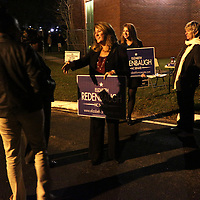Elizabeth Redenbaugh Election Night 2014