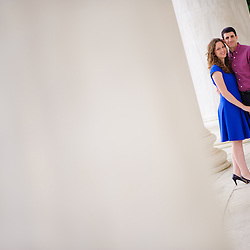 Davey and Jess Engagement Photos on May 17, 2014 at National Mall in Washington, District of Columbia.