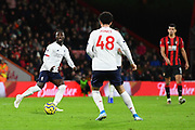 Naby Keïta (8) of Liverpool passes the ball during the Premier League match between Bournemouth and Liverpool at the Vitality Stadium, Bournemouth, England on 7 December 2019.