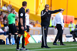 Wolverhampton Wanderers manager Nuno argues with the linesman - Mandatory by-line: Robbie Stephenson/JMP - 25/08/2019 - FOOTBALL - Molineux - Wolverhampton, England - Wolverhampton Wanderers v Burnley - Premier League