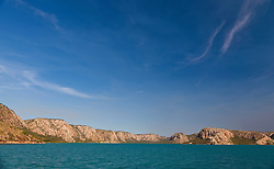 The stunning cliffs of Dugong Bay on the Kimberley coast.