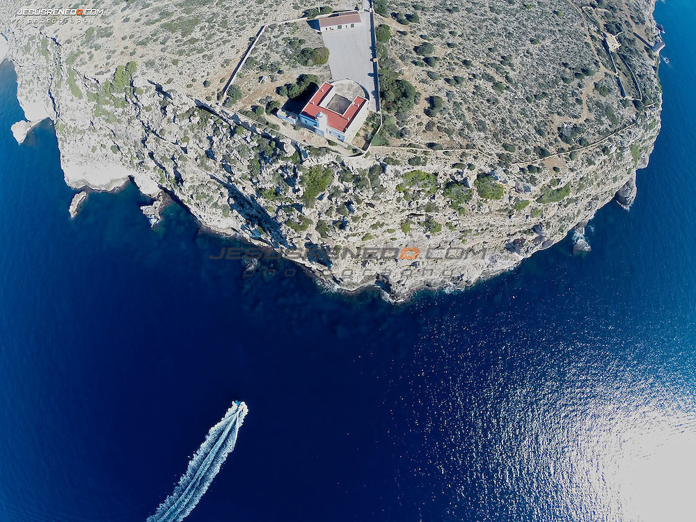 Faro de Cap Blanc,Aerial Images , Mallorca ©Jesús renedo
