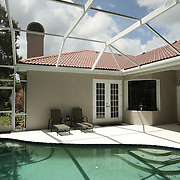 Mark Billingham home in Sarasota, Florida, USA, for the Sunday Times.  Photos by Cy Cyr taken on Wednesday, July 25th, 2012.