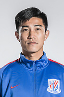 **EXCLUSIVE**Portrait of Chinese soccer player Sun Shilin of Shanghai Greenland Shenhua F.C. for the 2018 Chinese Football Association Super League, in Shanghai, China, 2 February 2018.