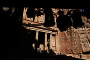 "The Kazneh, ""The Treasure"", is the most celebrated icon of Petra, one of the world's most revered cultural sites. But time and tourism are damaging its monuments, carved into sandstone cliffs.  How long it endures depends on how it is cared for today. Akasheh acknowledges, it must return to the desert sands: ""Some monuments have disappeared and some are more affected than others. It is natural for man to respect his past, to want it to last as long as possible. And good documentation of the site keeps its memory safe, even after it is long gone""."