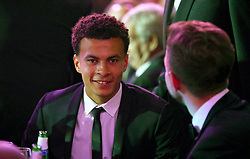 Tottenham Hotspur's Dele Alli during the Professional Footballers' Association Awards 2017 at the Grosvenor House Hotel, London