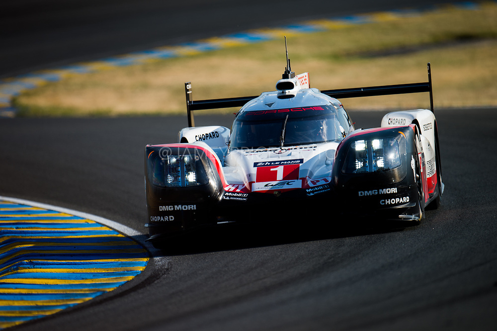 June 13-18, 2017. 24 hours of Le Mans. 1 Porsche Team, Neel Jani, Andre Lotterer, Nick Tandy, Porsche Team, Porsche 919 Hybrid, LMP1