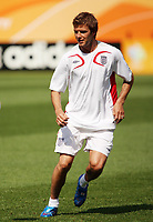 Photo: Chris Ratcliffe.<br />England Training Session. FIFA World Cup 2006. 14/06/2006.<br />David Beckham in training.