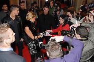 ©www.agencepeps.be/ F.Andrieu  - Belgique - Bruxelles - 130202 - Première visite Paris Hilton inauguration night-club Gotha River Viiperi - Alizée Poulicek - Daniel Camus