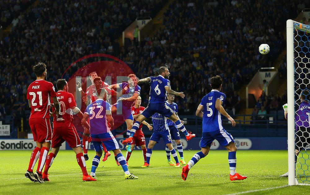 Tammy Abraham of Bristol City scores his sides first goal  - Mandatory by-line: Matt McNulty/JMP - 13/09/2016 - FOOTBALL - Hillsborough - Sheffield, England - Sheffield Wednesday v Bristol City - Sky Bet Championship