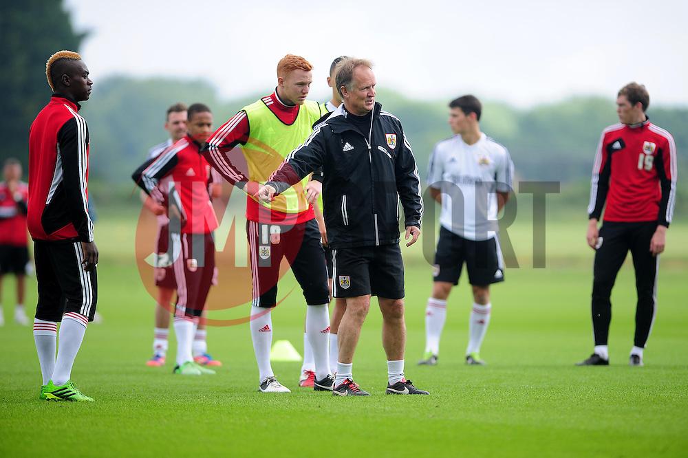Bristol City's head coach, Sean O'Driscoll - Photo mandatory by-line: Dougie Allward/JMP - Tel: Mobile: 07966 386802 28/06/2013 - SPORT - FOOTBALL - Bristol -  Bristol City - Pre Season Training - Npower League One