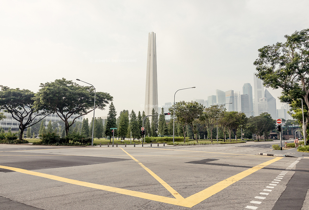 Singapore, war memorial park junction