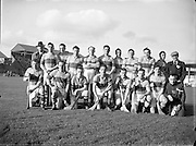 Hurling, Oireachtas Final, Croke Park, Clare v Wexford. .Clare Team...25.10.1953, 10.25.1953, 25th October 1953