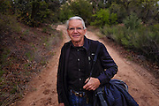 Photographer Carlan Tapp at Ghost Ranch.