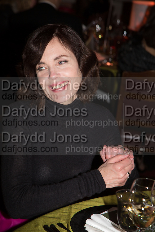 ELIZABETH MCGOVERN; , The Secret Winter Gala in aid of Save the Children and sponsored by Bulgari. Guildhall. London. 26 November 2013