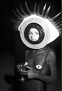 Woman at the Surealist Ball, London, 1990s.