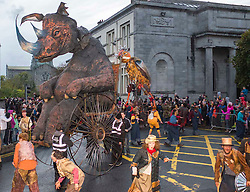 Macnas Parade Galway, photography by Patrick Henaghan