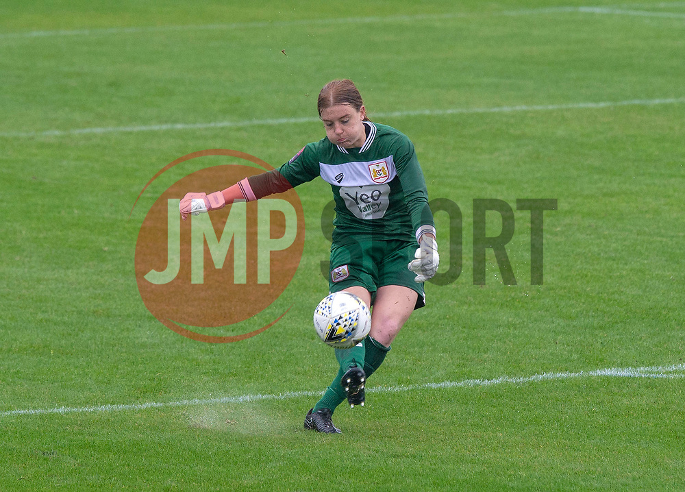 Sophie Baggaley of Bristol City - Mandatory by-line: Paul Knight/JMP - 26/08/2018 - FOOTBALL - Stoke Gifford Stadium - Bristol, England - Bristol City Women v Sheffield United Women - Continental Tyres Cup