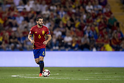 October 6, 2017 - Alicante, Spain - Nacho (Real Madrid) during the qualifying match for the World Cup Russia 2018 between Spain and Albaniaat the Jose Rico Perez stadium in Alicante, Spain on October 6, 2017. (Credit Image: © Jose Breton/NurPhoto via ZUMA Press)