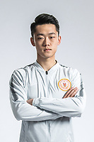 **EXCLUSIVE**Portrait of Chinese soccer player Xiang Hantian of Beijing Renhe F.C. for the 2018 Chinese Football Association Super League, in Shanghai, China, 24 February 2018.