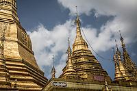 Sule pagoda in Yangon, Burma.