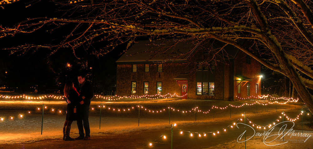 Christmas Candle Light Stroll at Strawbery Bank Museum