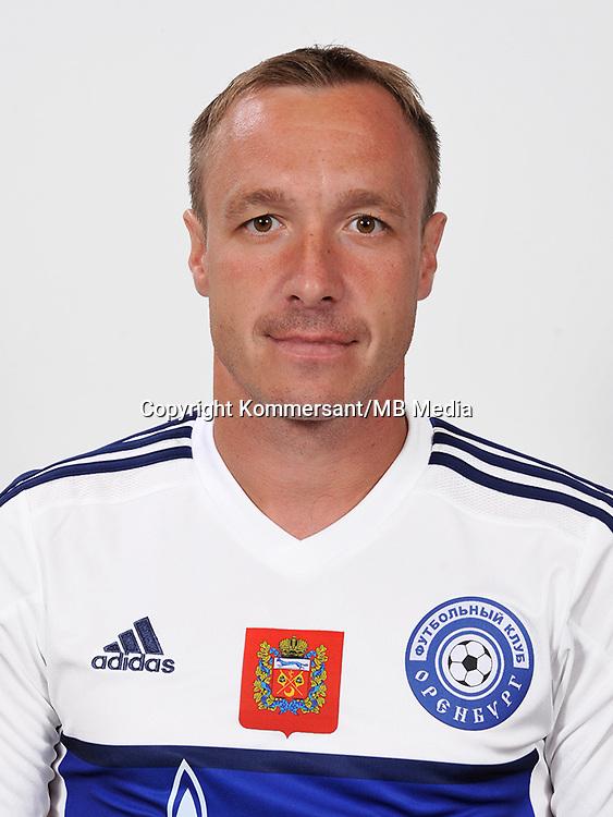 Portraits, Orenburg, Russian Premier League, August 2016