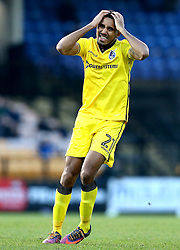 Cristian Montano of Bristol Rovers looks frustrated - Mandatory by-line: Robbie Stephenson/JMP - 18/02/2017 - FOOTBALL - Vale Park - Stoke-on-Trent, England - Port Vale v Bristol Rovers - Sky Bet League One