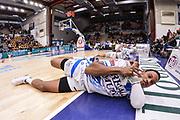 DESCRIZIONE : Campionato 2014/15 Serie A Beko Dinamo Banco di Sardegna Sassari - Upea Capo D'Orlando<br /> GIOCATORE : Kenneth Kadji<br /> CATEGORIA : Stretching Before Pregame<br /> SQUADRA : Dinamo Banco di Sardegna Sassari<br /> EVENTO : LegaBasket Serie A Beko 2014/2015<br /> GARA : Dinamo Banco di Sardegna Sassari - Upea Capo D'Orlando<br /> DATA : 22/03/2015<br /> SPORT : Pallacanestro <br /> AUTORE : Agenzia Ciamillo-Castoria/L.Canu<br /> Galleria : LegaBasket Serie A Beko 2014/2015