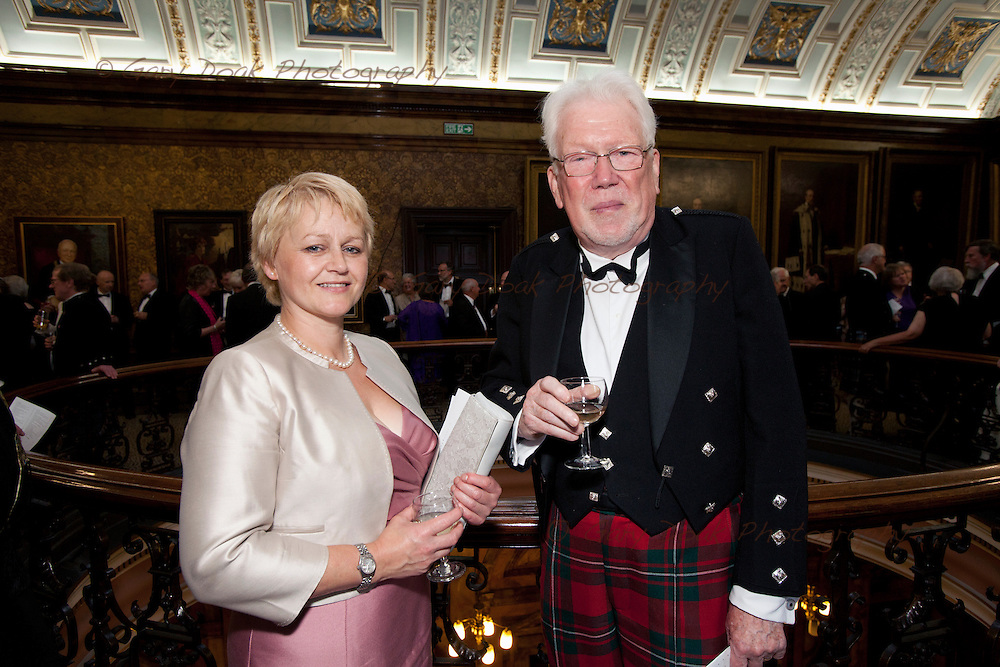 RSE Triennial dinner at Glasgow City Chambers